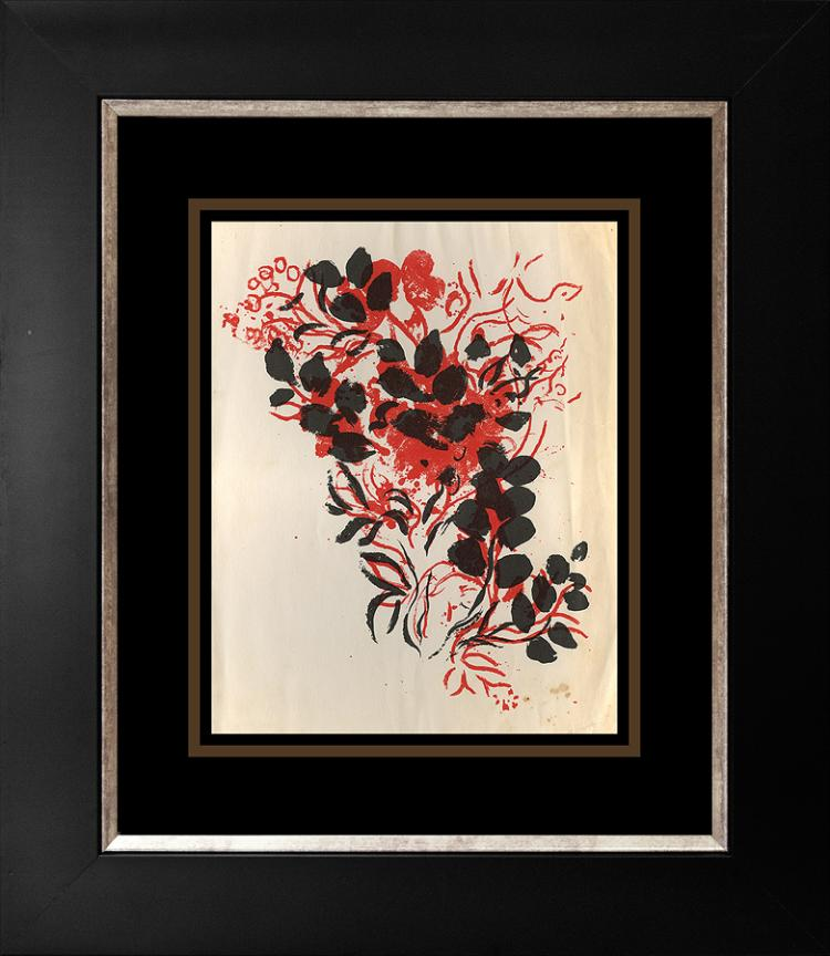 March Chagall original lithograph