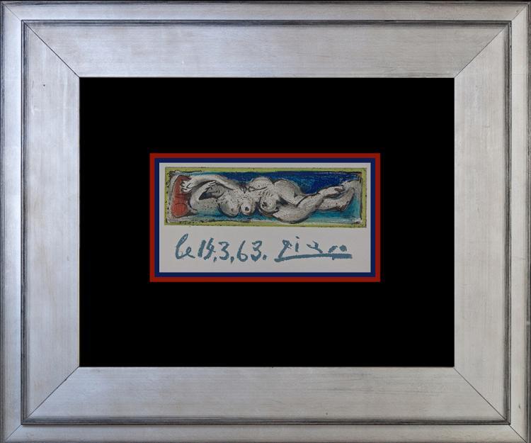 Original Lithograph Pablo Picasso