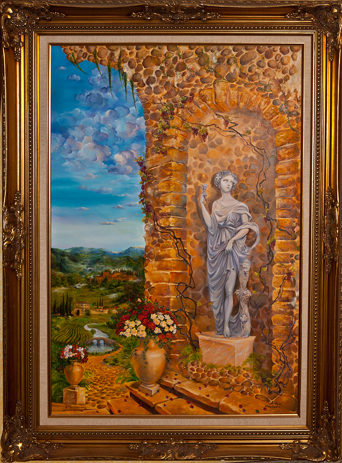Original Oil on canvas by Arina