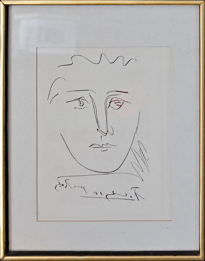 Pablo Picasso Pour Roby Limited Etching