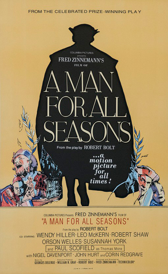 A Man for All Seasons Original Lithograph circa 1970