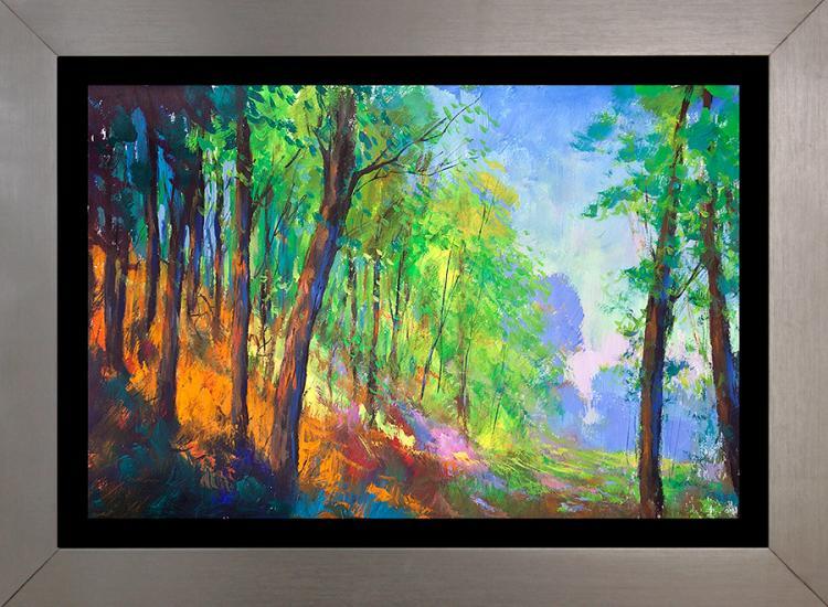 Michael Schofield Landscape original Watercolor