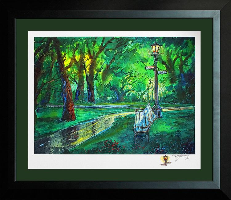 Michael Schofield Limited Edition Giclee with Remarque