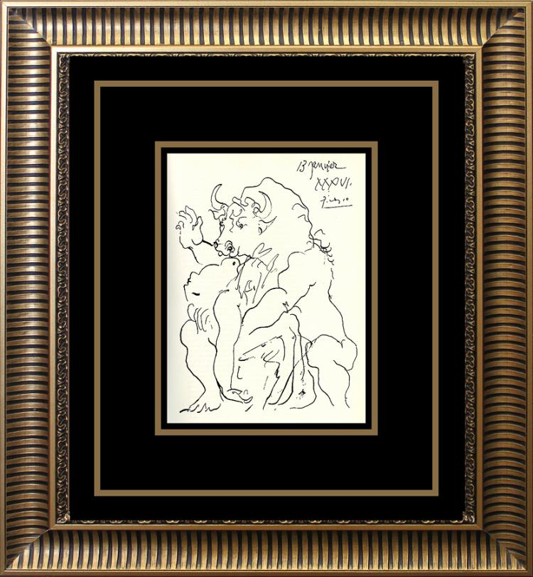 Pablo Picasso Lithograph from 1950