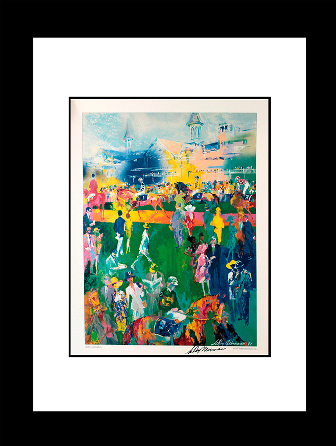Le Roy Neiman Kentucky Derby Lithograph hand signed