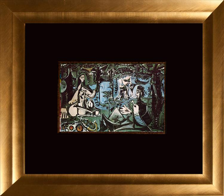 Pablo Picasso Color Plate Original Lithograph from 1966