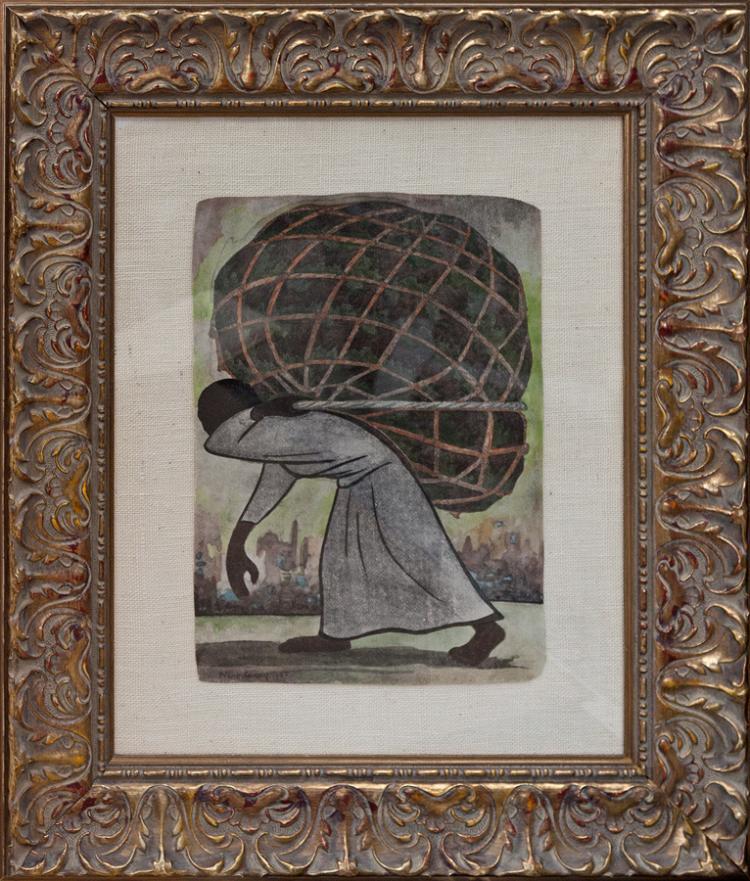 Diego Rivera Lithograph