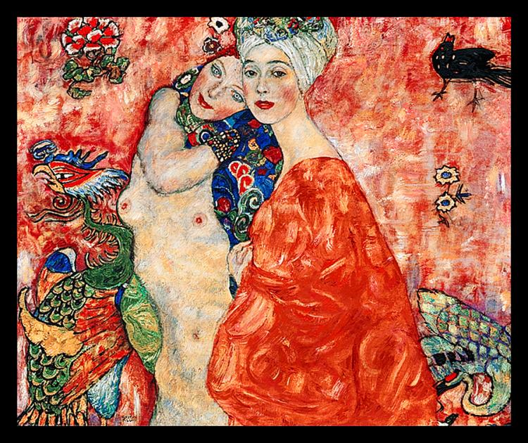 After Gustav Klimt Limited Ed Giclee Friends
