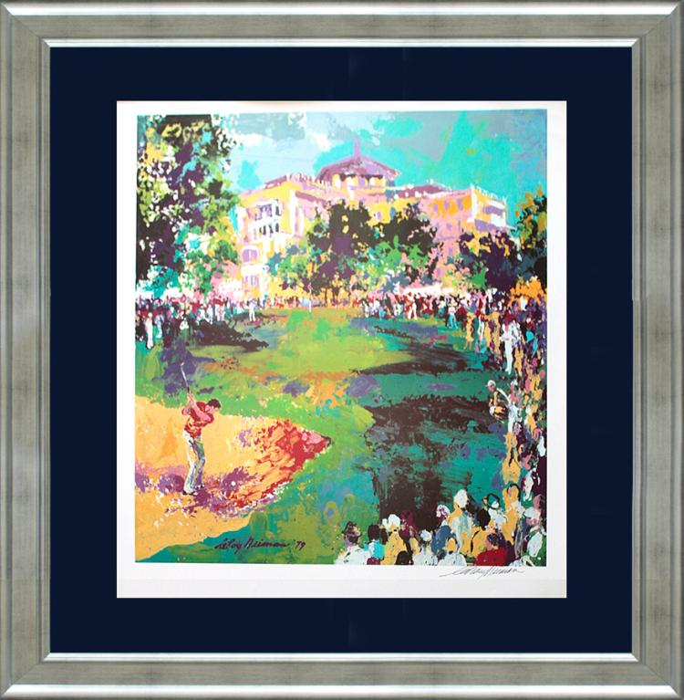 LeRoy Neiman Hand signed Lithograph Golf