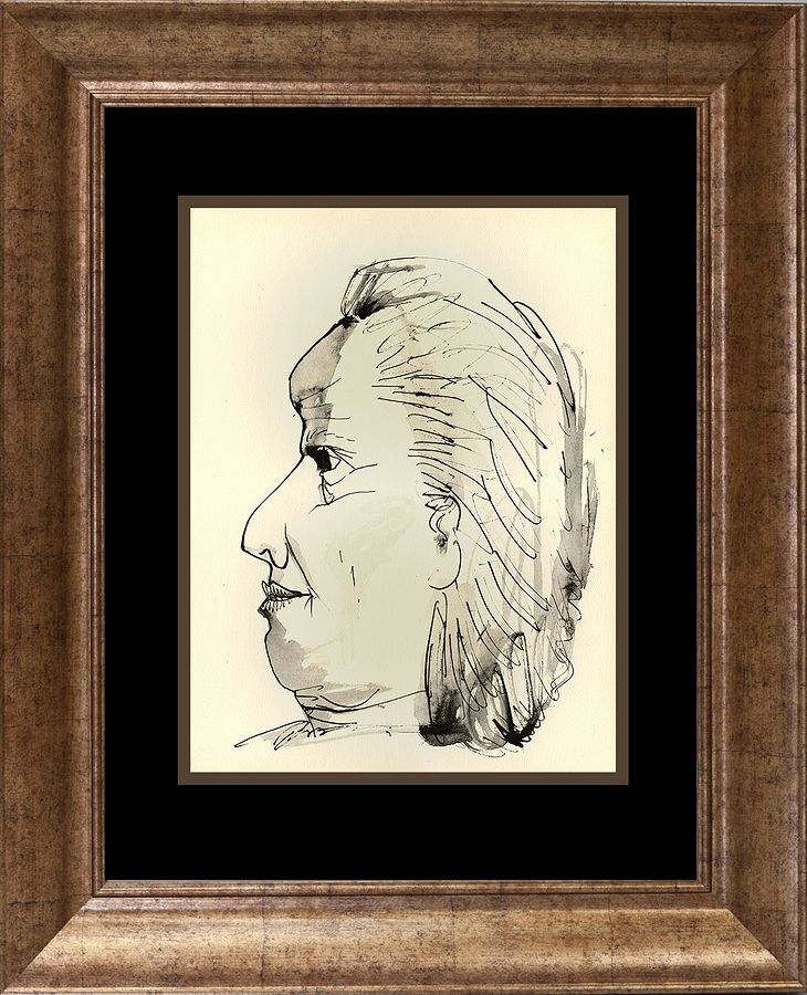 Picasso Marge du Buffon Portfolio limited edition almost 60 years old 10 x 14 image size