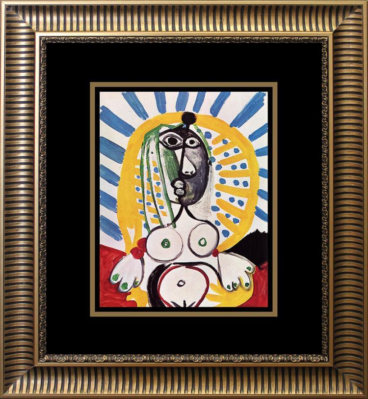 Pablo Picasso Color Plate 1966 Lithograph