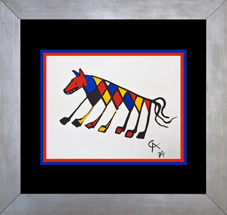 Alexander Calder Original Lithograph Beastie