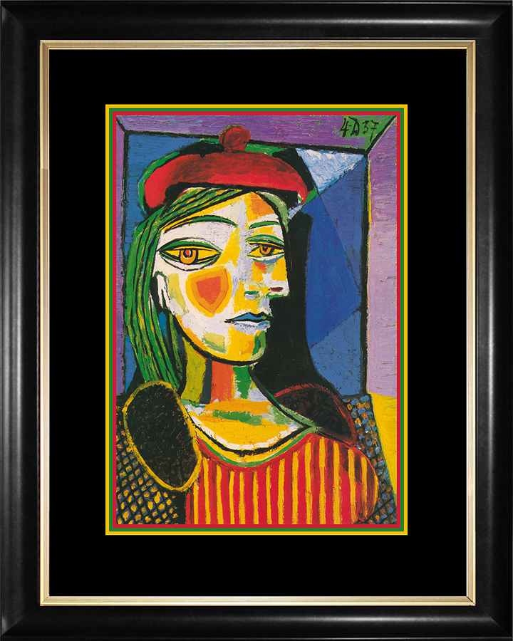 Red Beret Pablo Picasso Lithograph