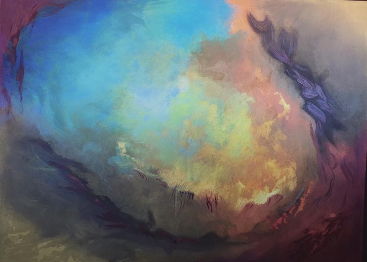 Zinovy Original acrylic on canvas Abstract
