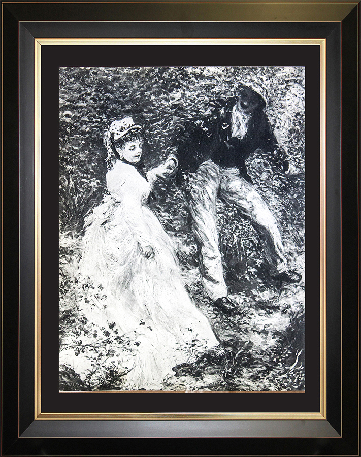 Pierre Renoir original lithograph from Verve Collection 76 years ago