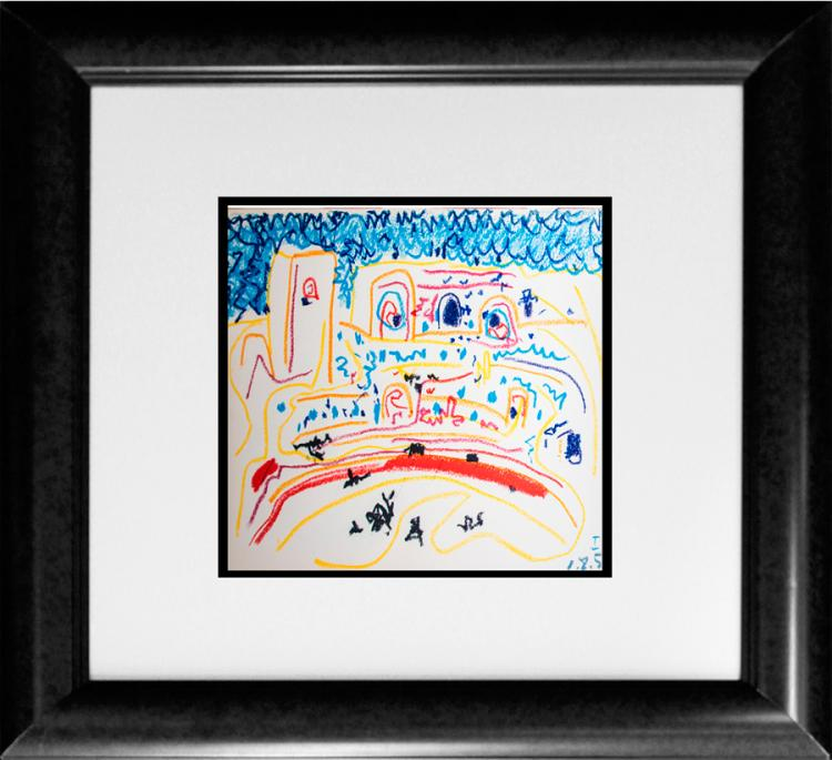 Pablo Picasso bullfighter lithograph in brilliant colors 1961 edition of Picasso Toros y Toreros;