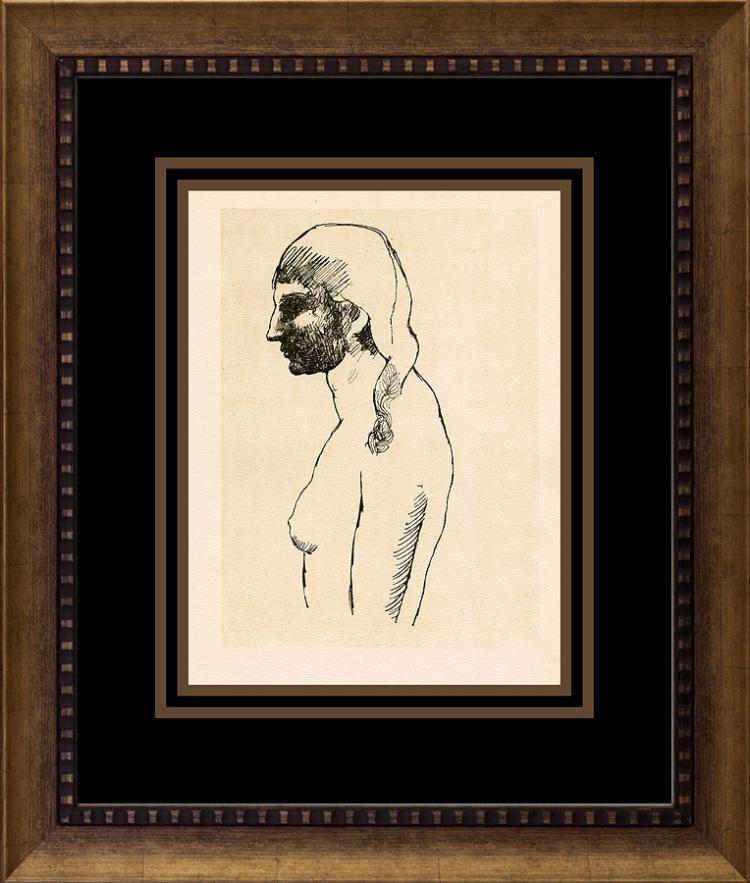 Pablo Picasso Lithograph from 1925 Dessins in Paris