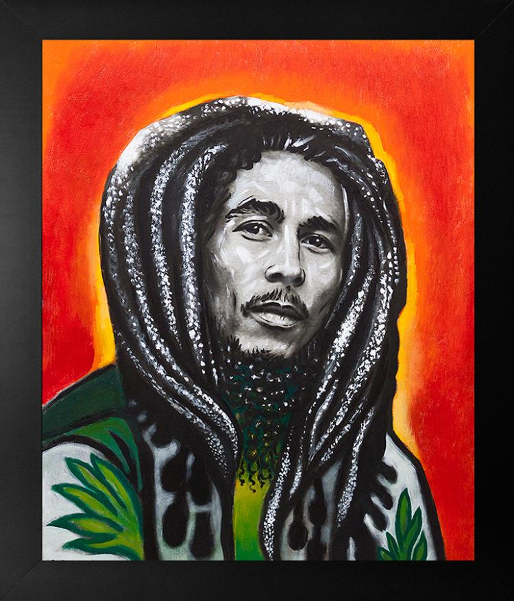 Original on canvas Bob Marley