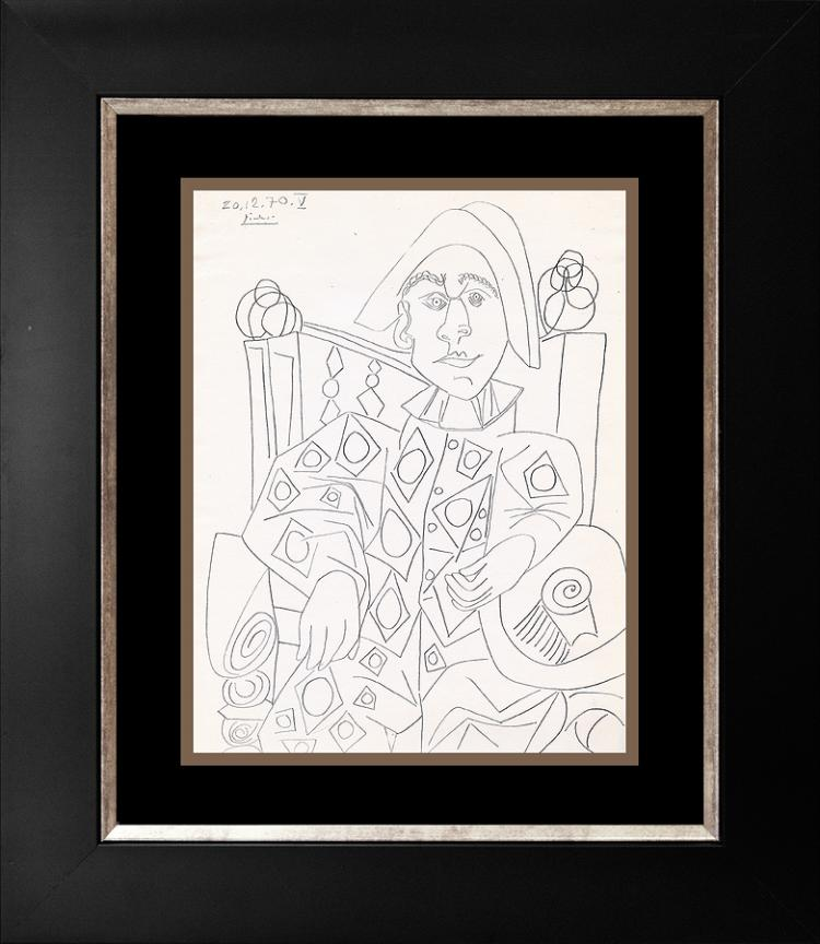 Pablo Picasso Color Plate Lithograph from 1970