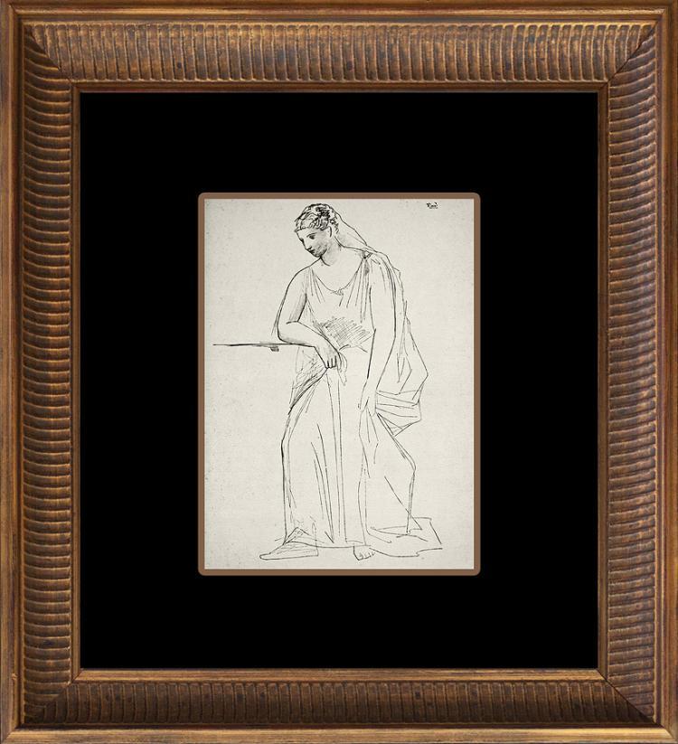 1926 Pablo Picasso Original Lithograph Dessins