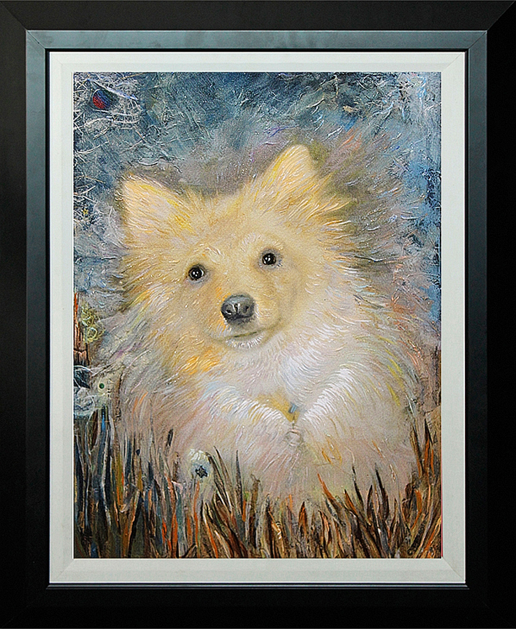 Mon Petit Chien by McBride Limited Edition Giclee