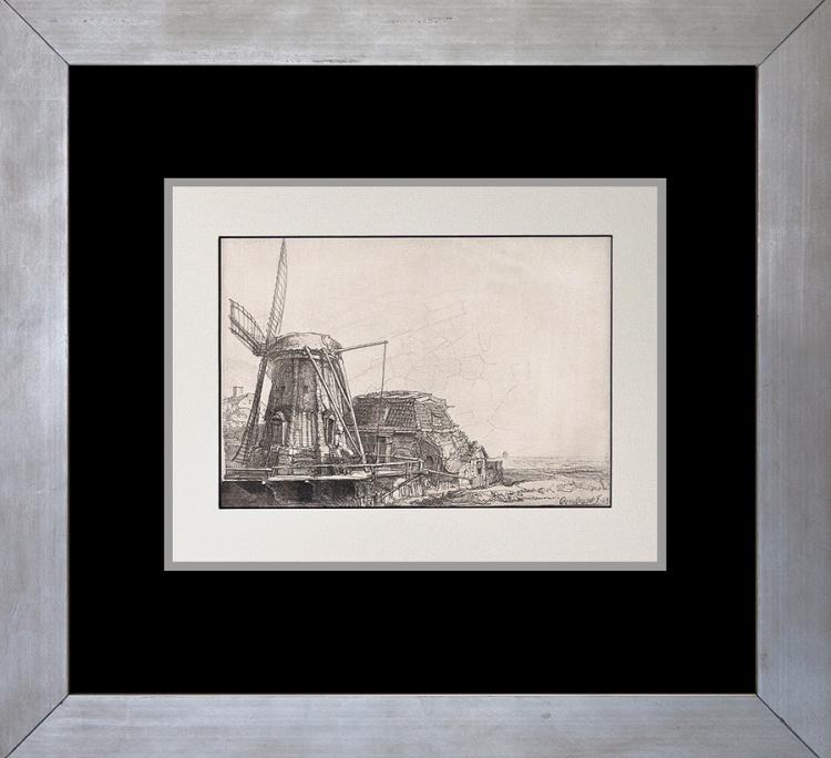 Rembrandt Windmill The Omval