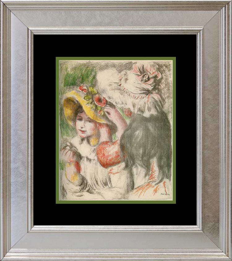 Pierre Renoir color plate Lithograph over 60 years ago