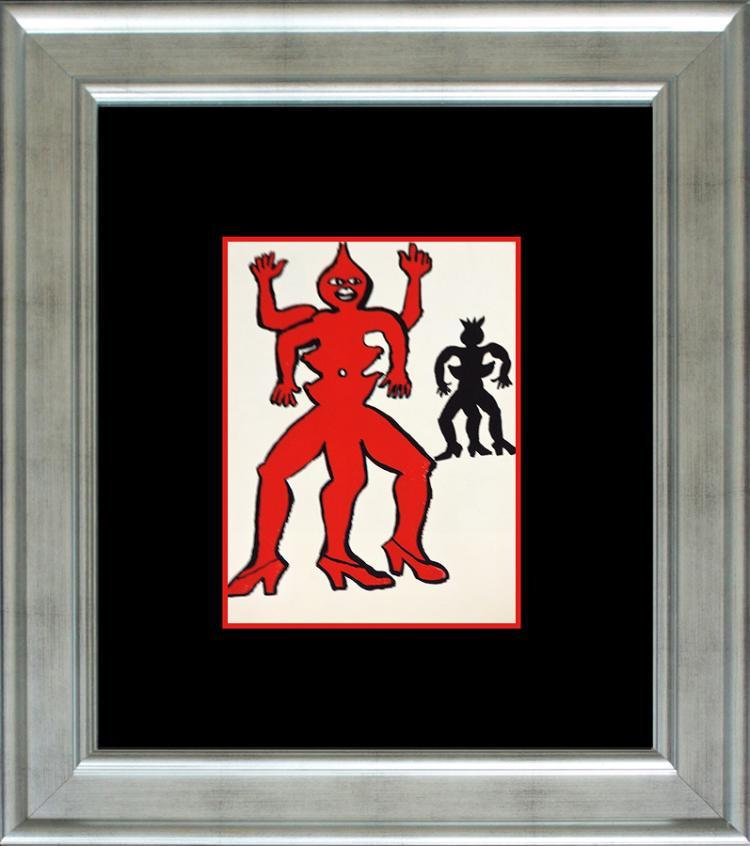 Alexander Calder lithograph printed 35 years ago Derriere le Miroir