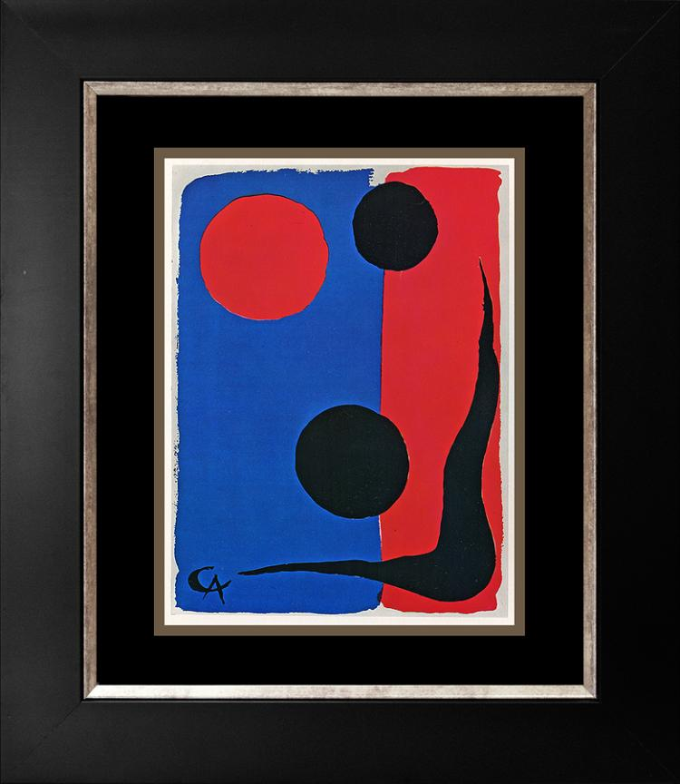 Alexander Calder lithograph from 1969