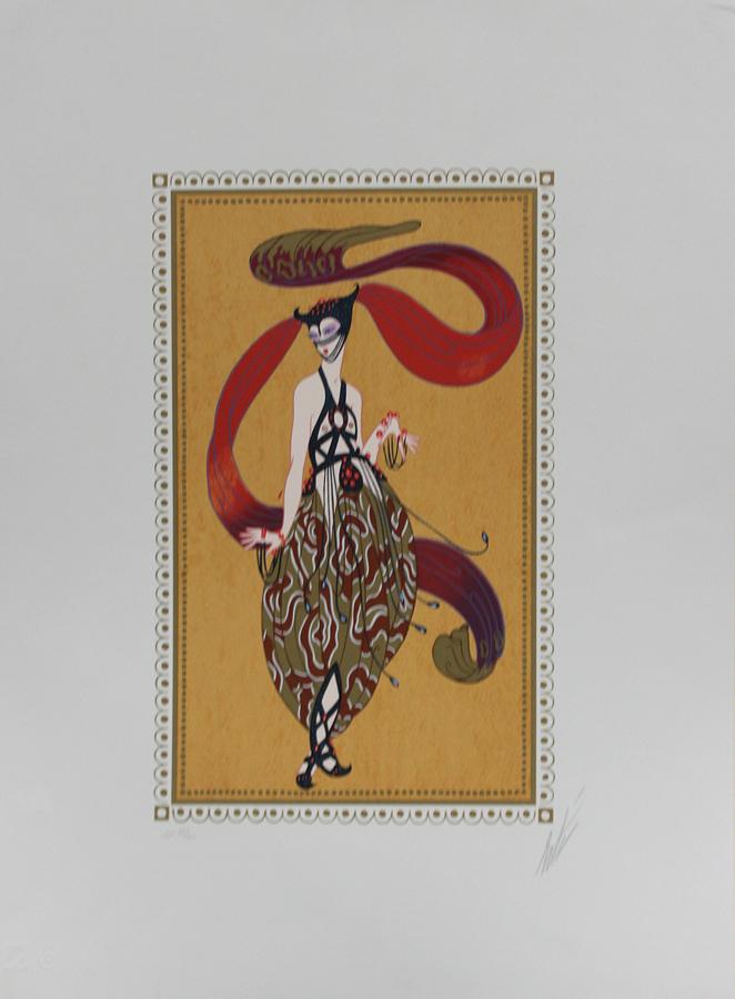 Erte Hand Signed Serigraph -Scheherezade Suite I