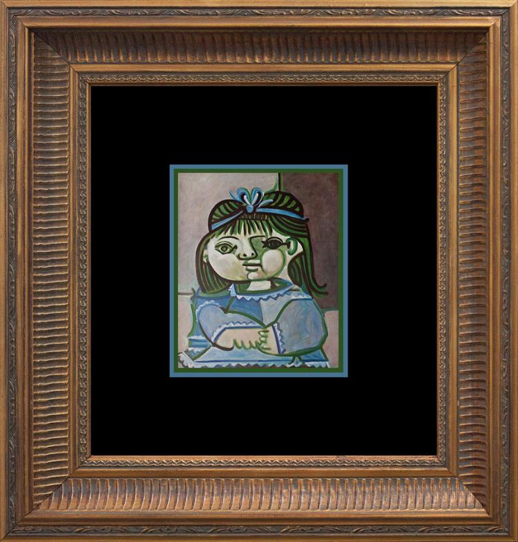 1959 Pablo Picasso Lithograph from the Verve Collection