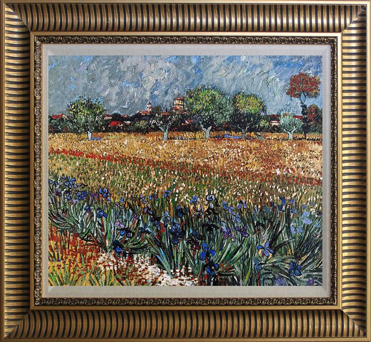 Vincent Van Gogh  embellished canvas