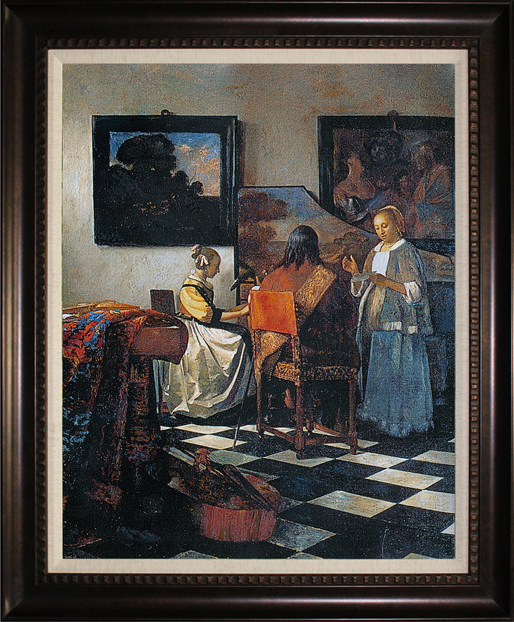 Johannes Vermeer Limited Edition The Concert