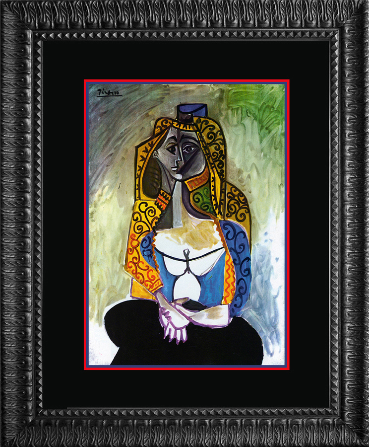 Turkish Shawl Pablo Picasso Lithograph