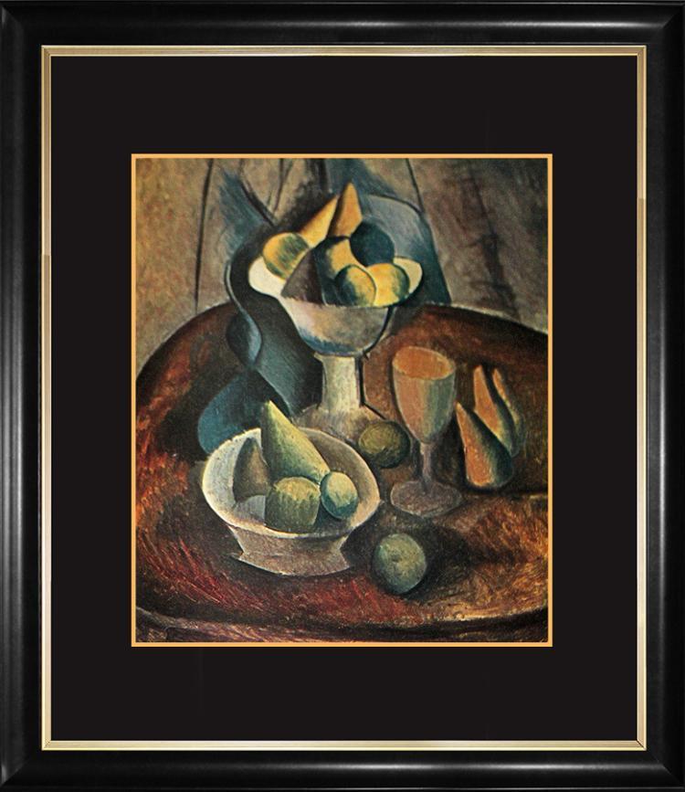 Pablo Picasso Hermitage Color plate original Lithograph