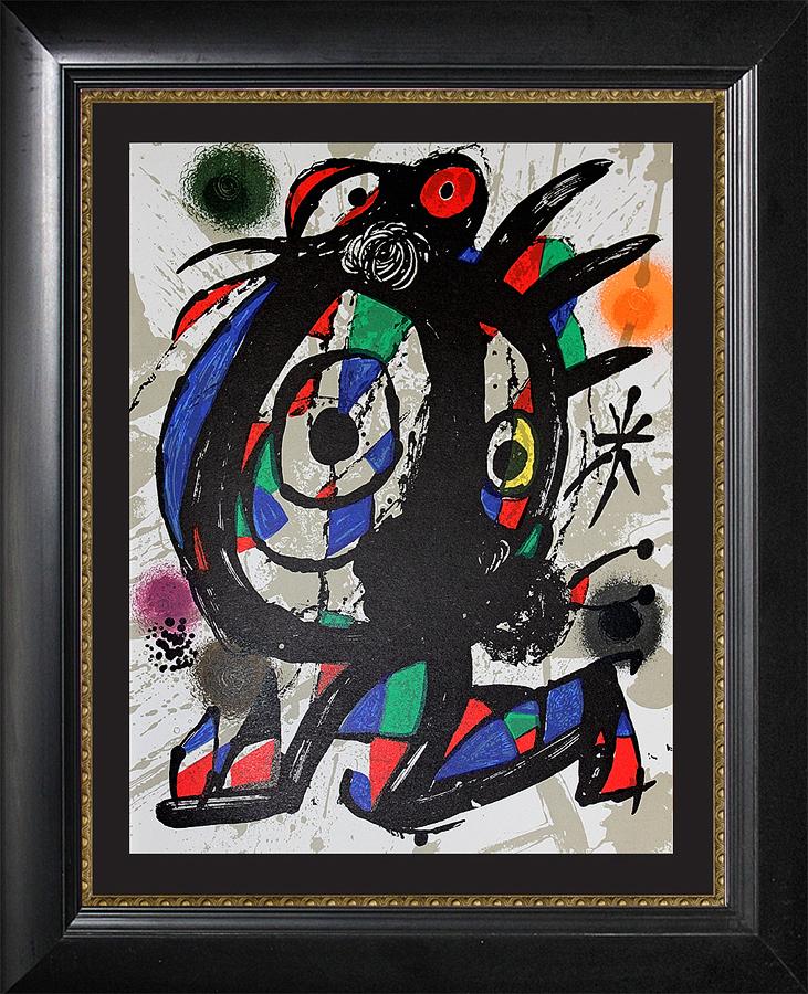 Joan Miro Original Lithograph 1970s