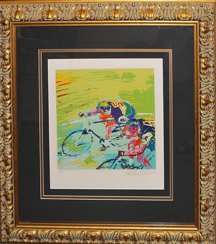 LeRoy Neiman-Serigraph Indoor Cycling