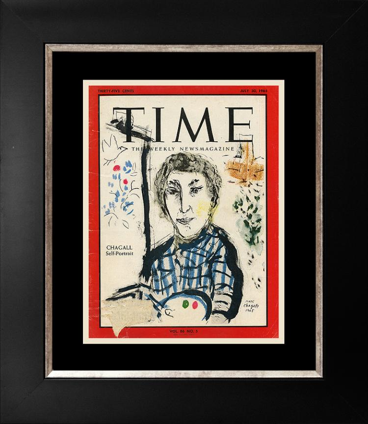 Marc Chagall Color Plate Time Magazine