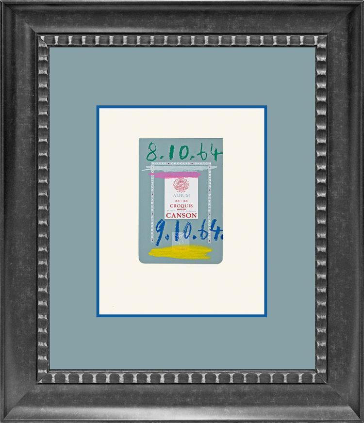Pablo Picasso lithograph  Le Gout de Bonheur portfolio