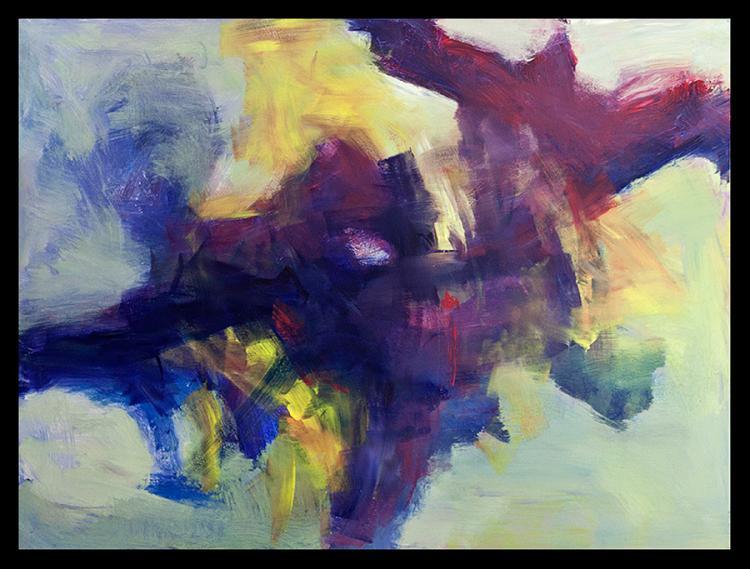 Michael Schofield Original on canvas Abstract