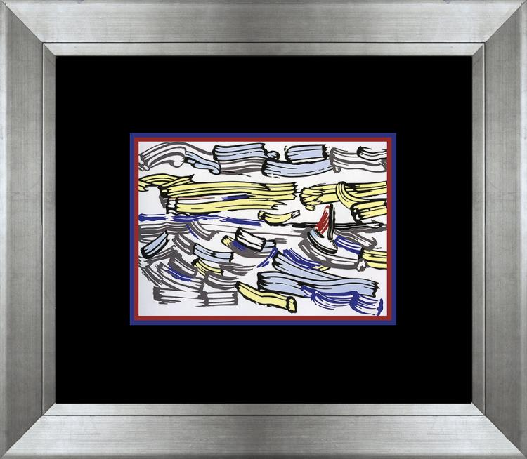 Roy Lichtenstein 1993 Color Plate Lithograph