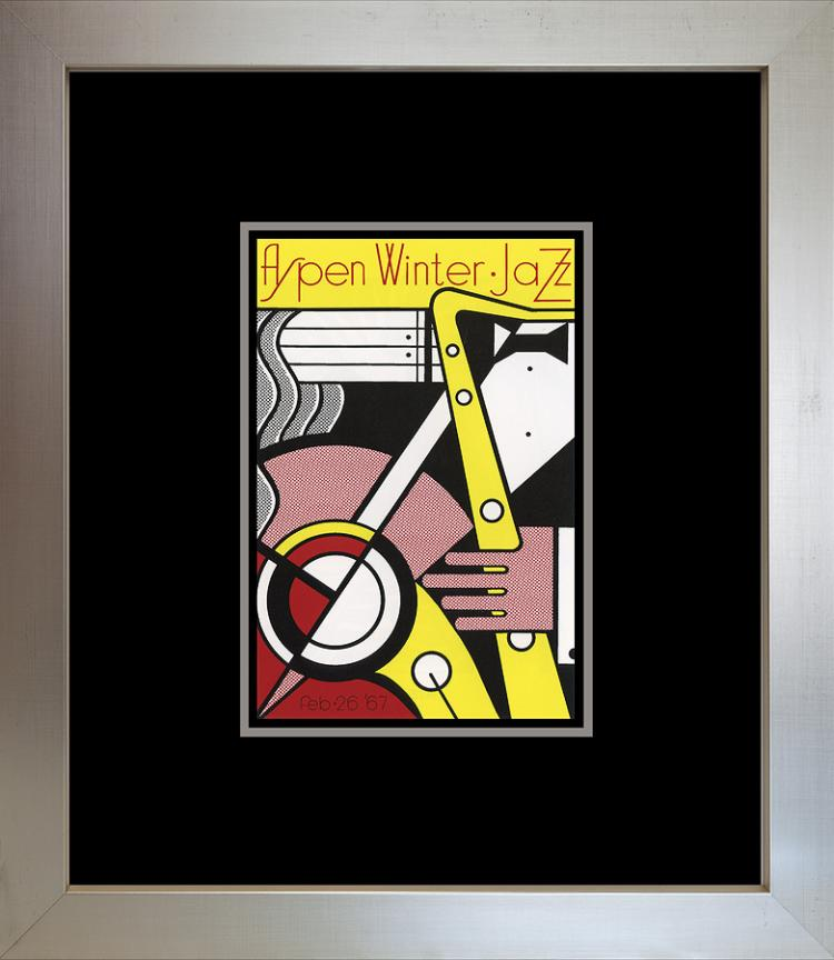 Roy Lichtenstein 1996 Jazz Lithograph