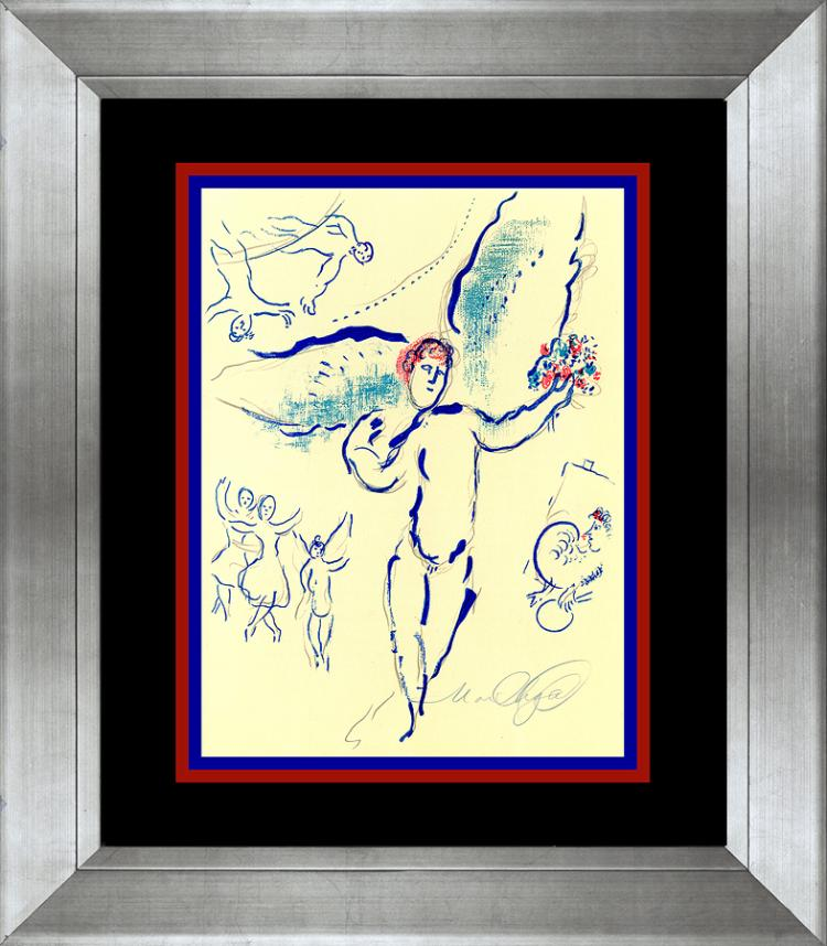 Marc Chagall lithograph over 60 years ago