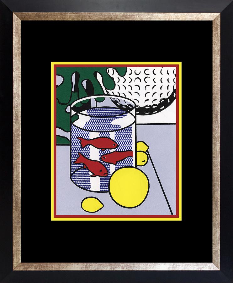 Roy Lichtenstein 1996 Goldfish Lithograph