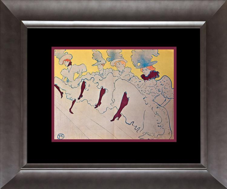 Toulouse Lautrec lithograph over 60 years old