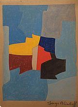 Serge Poliakoff Original on paper.