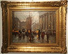 Edouard Cortes  original oil on canvas.  Hand signed by the artist. 16x12 inches image size, 23x19 inches framed size.