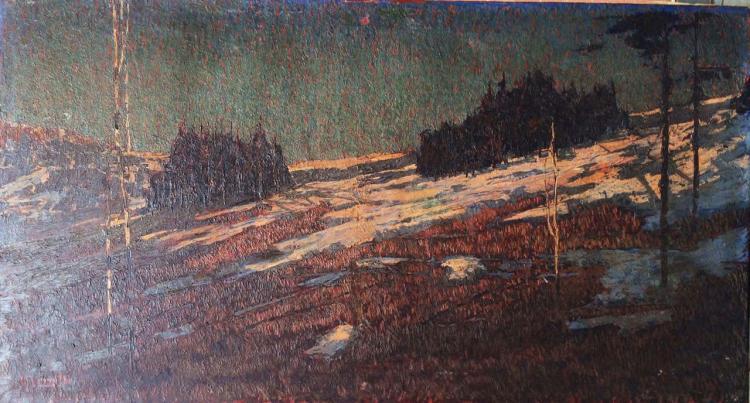 Guido Cinotti Original Oil on canvas circa 1900