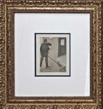 Edgar Degas Original Etching