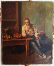 Charles SPENCELAYH  Original Oil on canvas